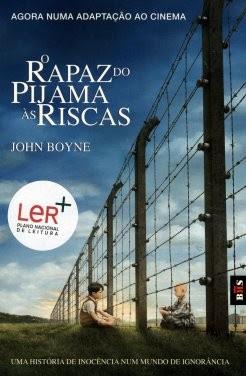 Livro: O rapaz do pijama às riscas do escritor  irlandês John Boyne