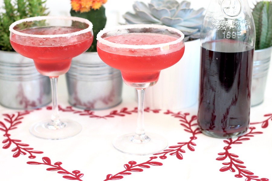 Christmas Sloe Gin Cocktail