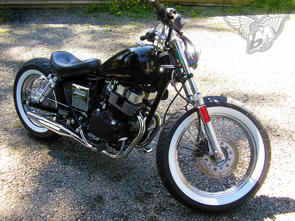 reader rides franks 1986 honda rebel bobber bikermetric