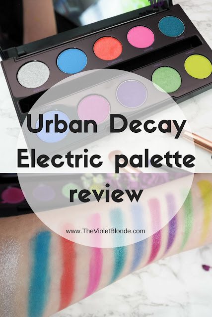Urban Decay Electric eyeshadow palette review