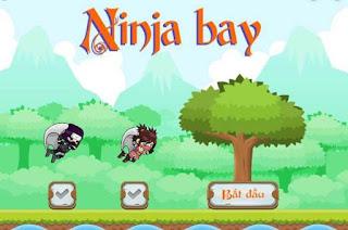 Chơi game ninja bay hấp dẫn