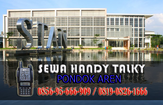 Pusat Sewa HT Pondok Aren Pusat Rental Handy Talky Area Pondok Aren