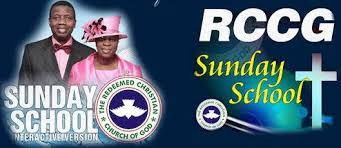 15 December 2019 RCCG Sunday school Student's Manual