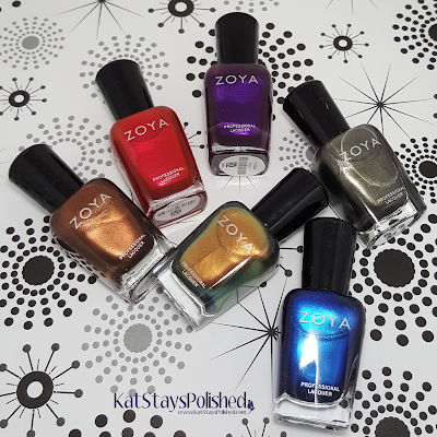 Zoya Flair 2015 | Kat Stays Polished