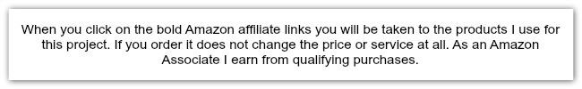 amazon affilite disclaimer