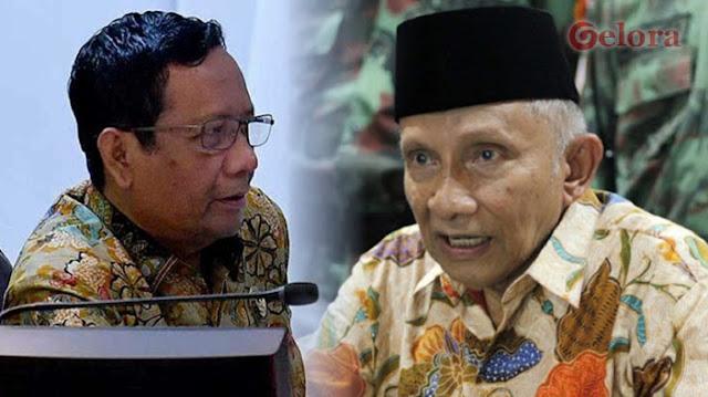 Mahfud MD Bela Perppu Corona Jokowi yang Digugat Amien Rais dkk ke MK