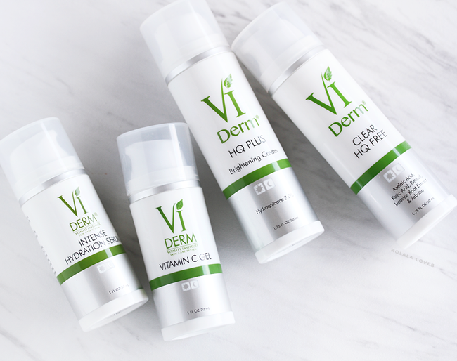 VI Derm Review, VI Derm Vitamin C Gel, VI Derm HQ Plus, VI Derm Clear HQ Free, VI Derm Intense Hydration Serum, Skin Brightening Skincare