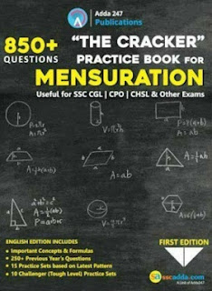The Cracker Practice Book for Mensuration Book PDF Download