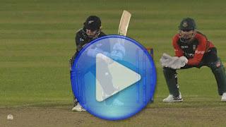 Ban vs NZ 5th T20I 2021 Highlights