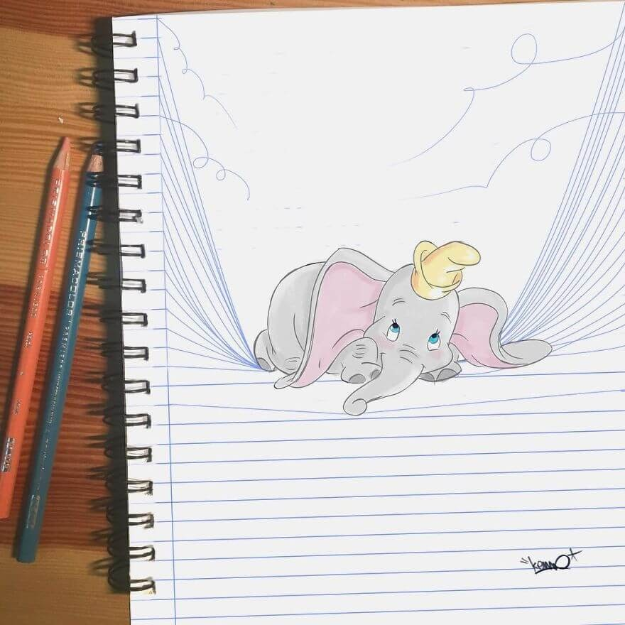 09-Dumbo-the-Elephant-L-Kemo-www-designstack-co