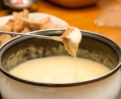 Savoyard fondue granny style