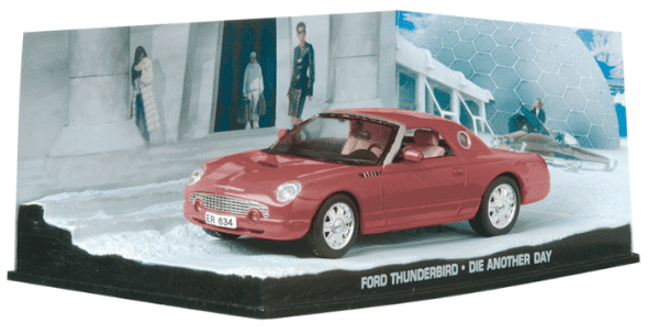 Ford Thunderbird - Die another day 1:43 colección james bond