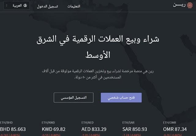 شراء وبيع العملات الرقمية في الشرق الأوسط