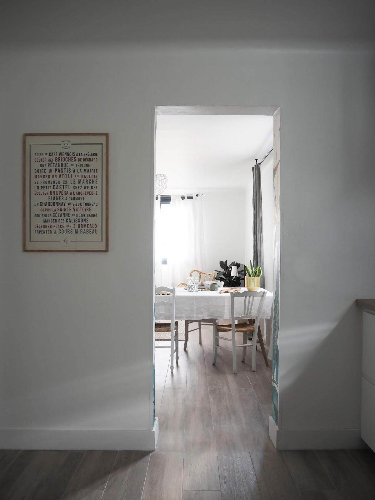 décoration d'intérieur - aix en provence - ilaria fatone- maison paulette - salle à manger