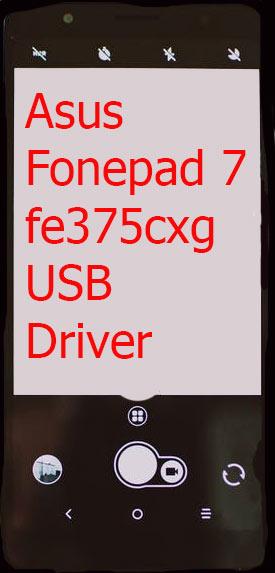 Asus Fonepad 7-fe375cxg USB Driver
