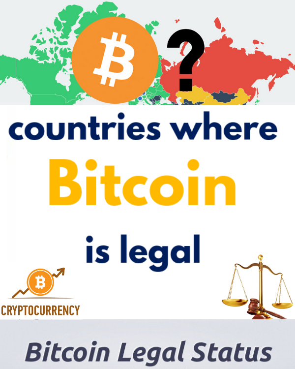 Bitcoin Legal Digunakan di Negara-Negara Ini