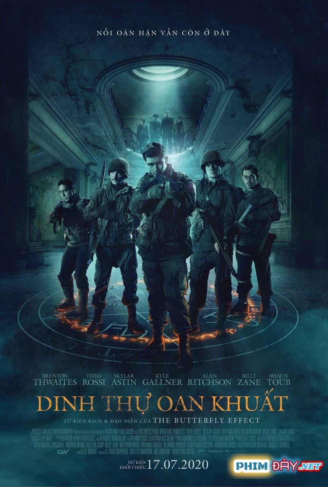Dinh Thự Oan Khuất - Ghosts of War (2020)
