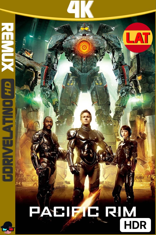 Titanes del Pacífico (2013) BDRemux 4K HDR Latino-Ingles MKV