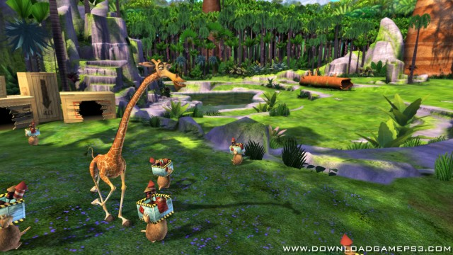Madagascar Escape 2 Africa - Download game PS3 PS4 RPCS3 PC free