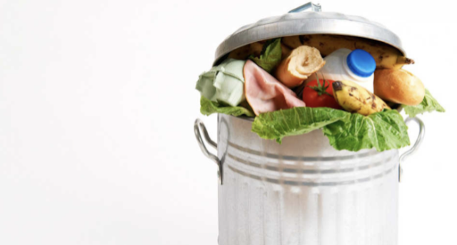 Waste that cannot be processed into compost
