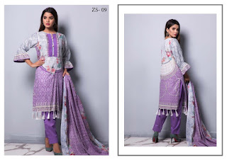 Original Pakistani Suits wholesale | ZS textile Rangreza lawn vol 4