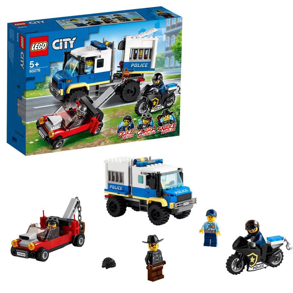レゴ(LEGO) シティ ポリス護送車 60276