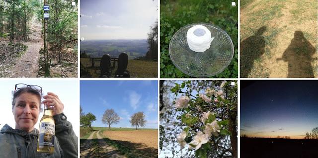 Collage Instagram-Fotos April 2020