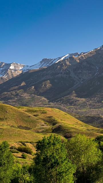 Mountains Hills Valley desktop wallpaper and iPhone