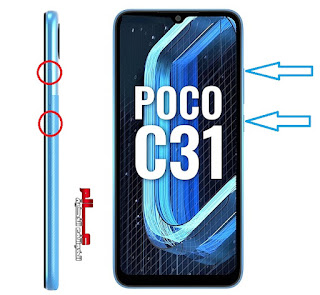 طريقة فرمتة وﺍﺳﺘﻌﺎﺩﺓ ﺿﺒﻂ ﺍﻟﻤﺼﻨﻊ شاوم Xiaomi Poco C31