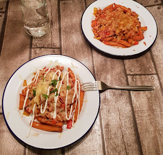 sweet potato dirty fries slimming world recipe food chips syn free