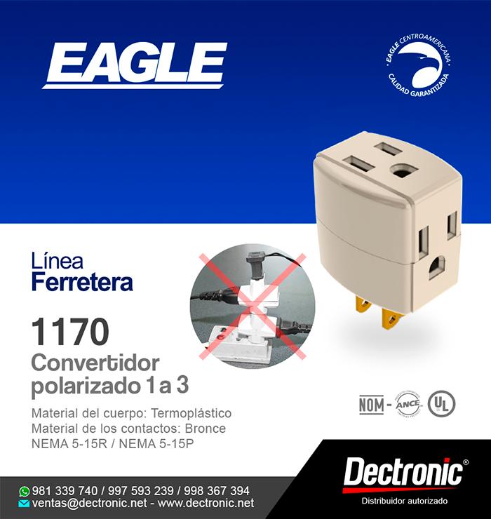 Convertidor polarizado 1 a 3 1170 - Eagle