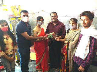सारथी वेलफेयर फाउंडेशन की टीम ने किया कोरोना योद्धाओं का सम्मान    #NayaSaberaNetwork