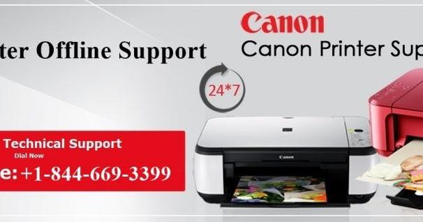 How to Fix Canon Printer offline Error 6A81