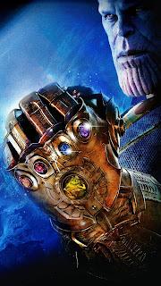 Thanos Gauntlet Mobile HD Wallpaper