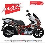 PCX NAGA custom desain