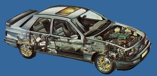 Ford Sierra Cosworth 4x4.