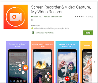 Screen Recorder And Video Capture, My Video Recorder APK