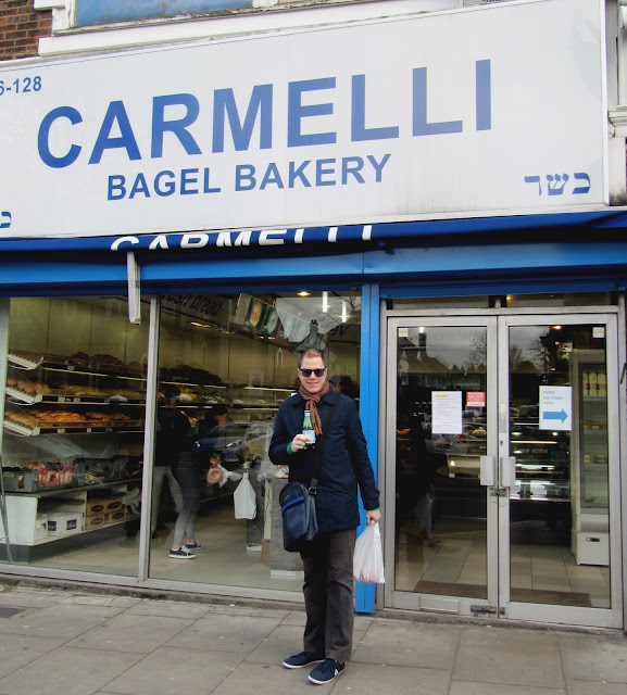 Golders Green, London, Carmelli, Carmelli Bakery, Bages