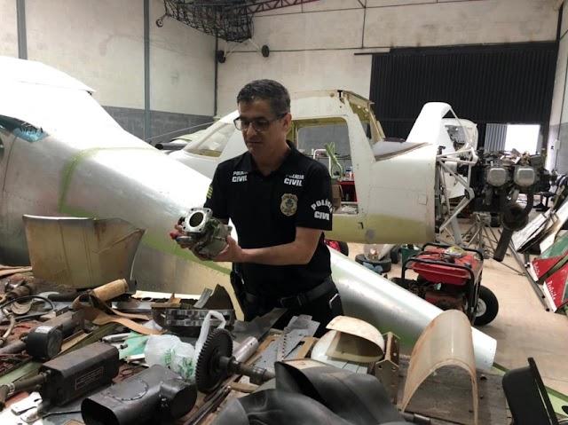 Anápolis: Complexo esquema de tráfico de drogas é desarticulado, 11 aviões foram apreendidos
