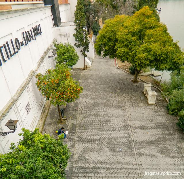 Sevilha, bairro de Triana, Passeio de Nossa Senhora do Ó