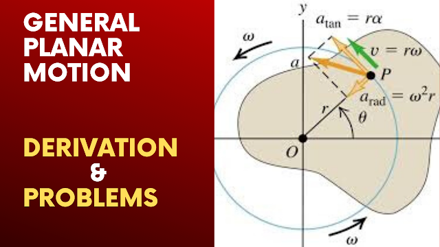General Planar Motion Derivation And Problems Solutions | Dynamics