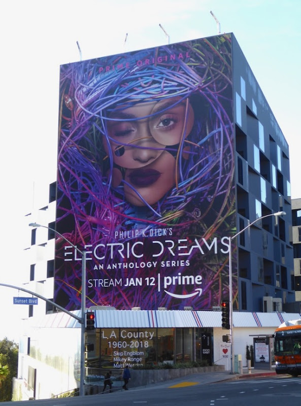 Electric Dreams series billboard