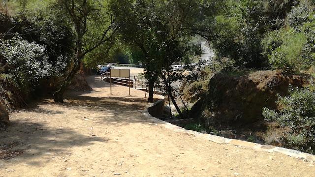 Acesso Parque de Merendas da Ribeira do lagar
