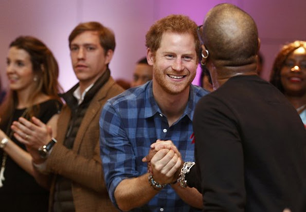 Prince Harry, Prince Louis, Princess Tessy at Hurlingham Club for Joyful Noise Choir, NAZ