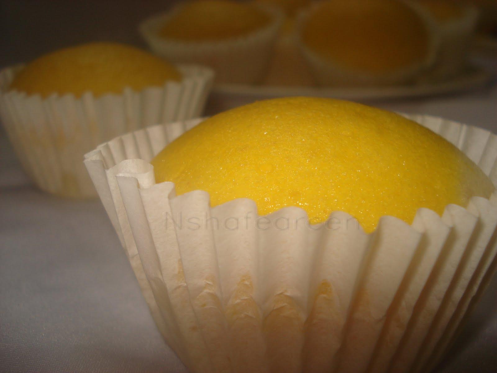 Muffin Yogurt Menggo Kukus ~ Nshafeareen®
