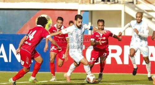 حرس الحدود يتغلب على بيراميدز ويمنعه من التقدم للمربع الذهبي في الدوري المصري