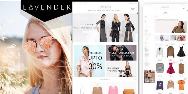 Lavender Fashion PrestaShop Theme