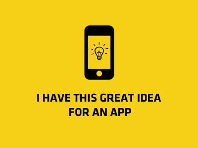 tener una idea clara de la aplicacion a crear
