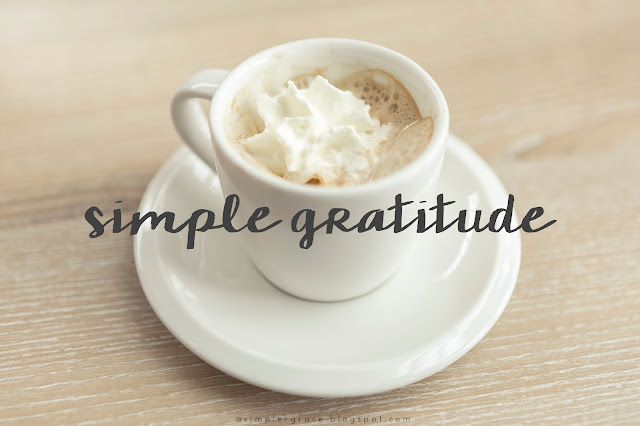 A weekly linkup post where I share the things I'm grateful for!