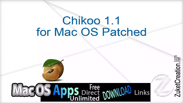 Chikoo 1.1 for Mac OS Patched